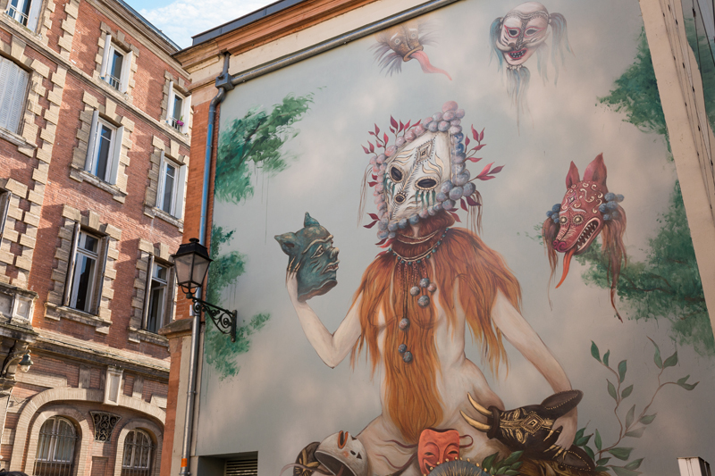 street art toulouse fresque miss van