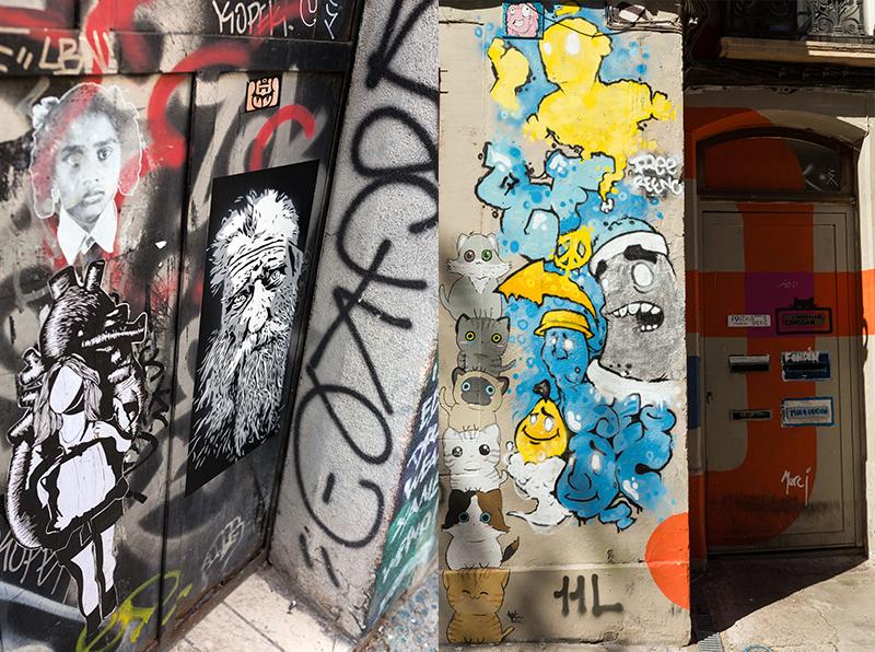 graff toulouse rue gramat