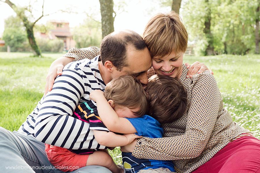 Photographies de famille à Toulouse