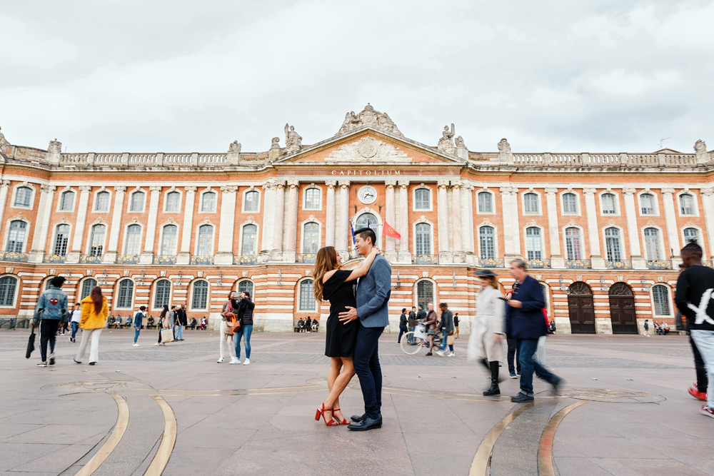 shooting photo capitole toulouse
